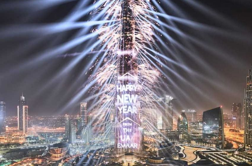 Downtown Dubai to celebrate New Year's Eve with grand masterpiece of fireworks