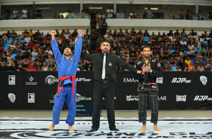Over 1000 athletes to take to mat at Grand Slam Abu Dhabi Rio de Janeiro 2020