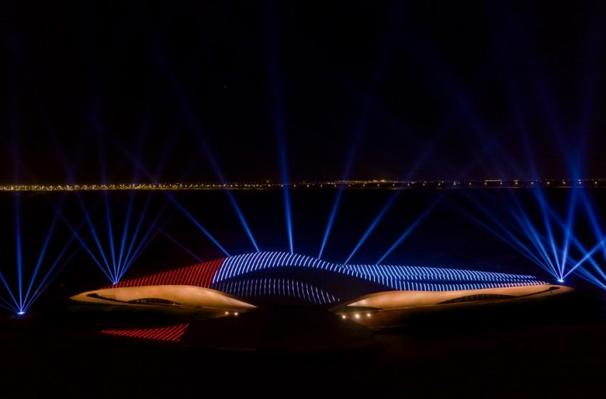 Bee'ah celebrates UAE National Day with region's first solar-powered light show