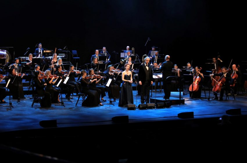 Dubai Opera hosts legendary opera singer Andrea Bocelli