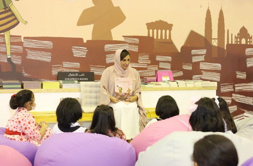 "Bodour Al Qasimi launches her book ""World Book Capital"" at 12th Sharjah Children's Book Festival"