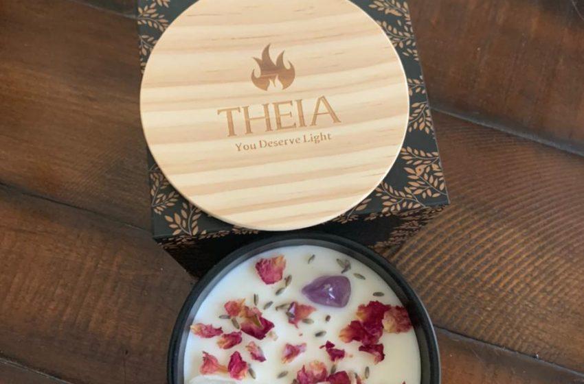 Mesmerize your sense with Theia candles