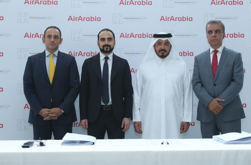 ANIF and Air Arabia to launch Armenia's new national airline