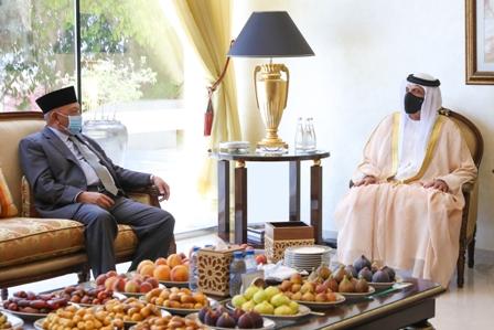 RAK Ruler receives Ambassador of Indonesia