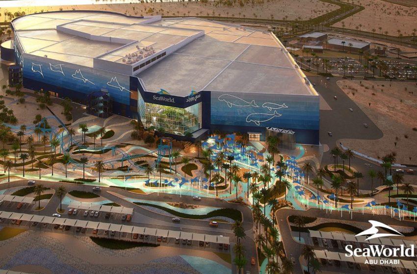 SeaWorld Abu Dhabi on Yas Island set to feature world's largest aquarium