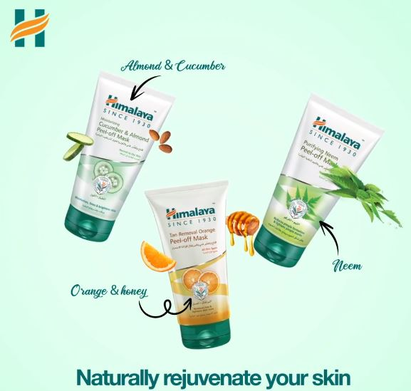 Naturally rejuvenate your skin this summer with 𝗛𝗶𝗺𝗮𝗹𝗮𝘆𝗮'𝘀 𝗣𝗲𝗲𝗹-𝗢𝗳𝗳 F𝗮𝗰𝗲 M𝗮𝘀𝗸𝘀