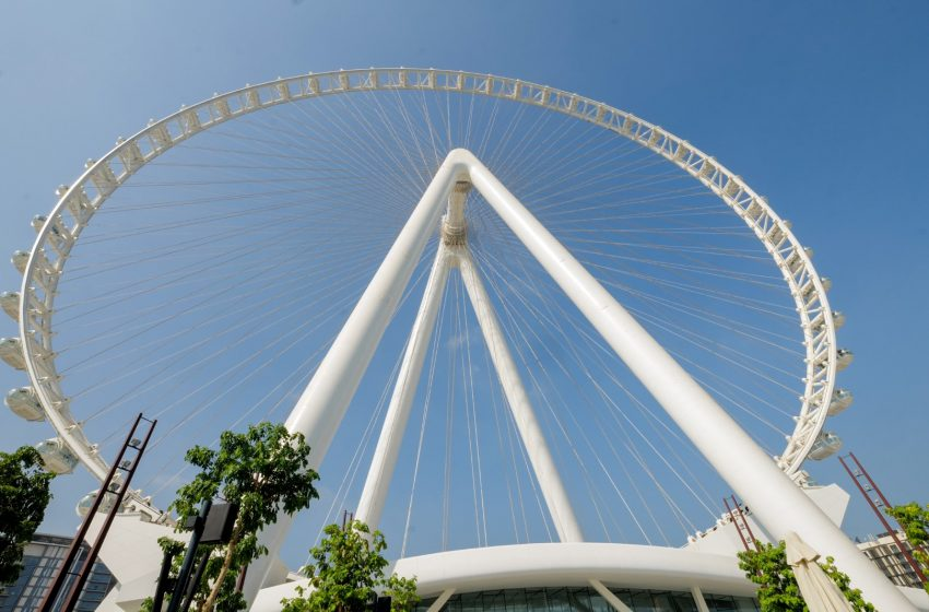 Ahmed bin Mohammed officially inaugurates Ain Dubai, the world's largest and tallest observation wheel