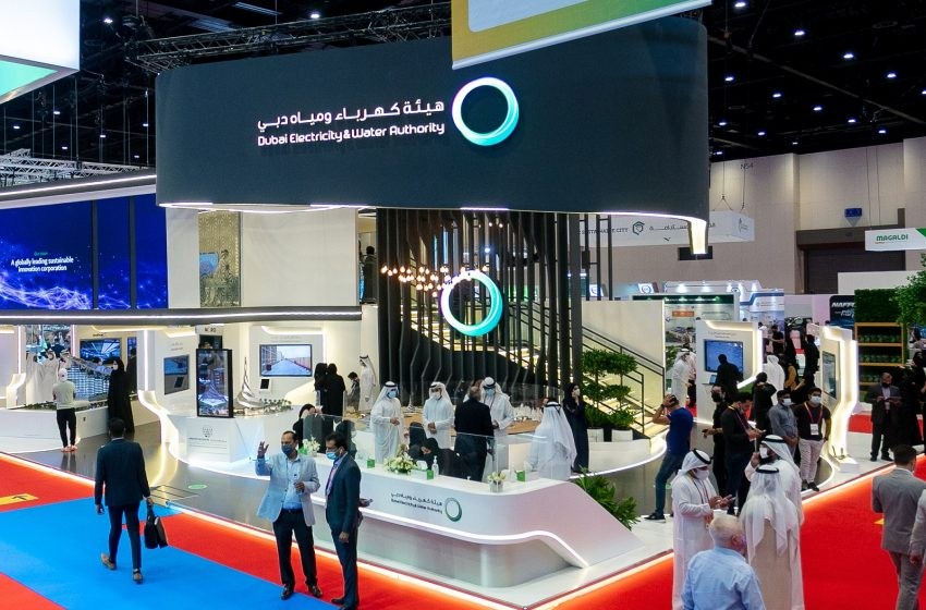DEWA showcases globally leading projects at WETEX, DSS 2021